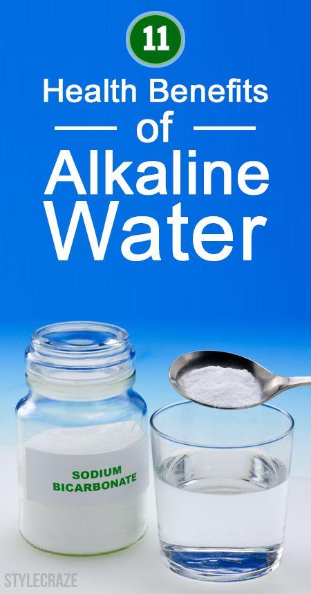 11 Avantages pour la santé incroyable de l`eau alcaline
