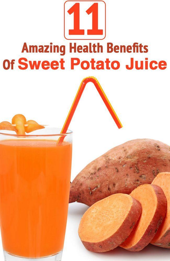 11 Avantages pour la santé incroyable de jus de patate douce (shakarkandi ka RAS)
