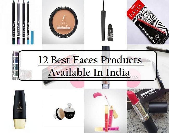 12 Les meilleurs visages des produits cosmétiques en Inde