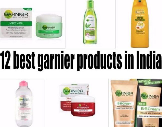 12 Les meilleurs produits garnier en Inde: la peau, les cheveux