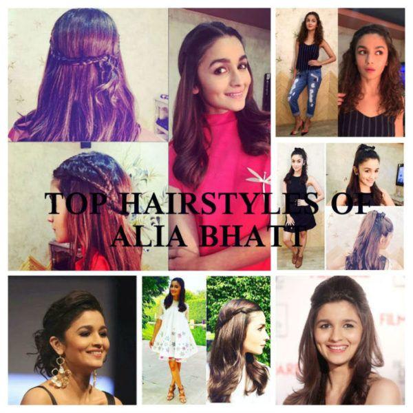 13 Meilleures coiffures Bhatt alia pour les filles des collèges