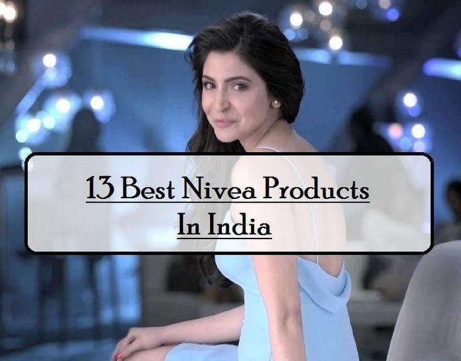 13 Les meilleurs produits nivea disponibles en Inde