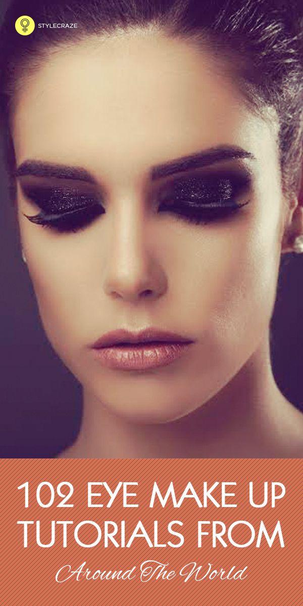 135 Tutoriels maquillage pour les yeux du monde entier