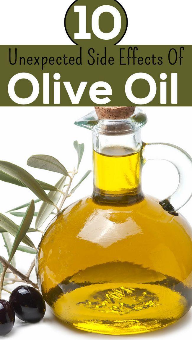 14 Effets secondaires inattendus de l`huile d`olive