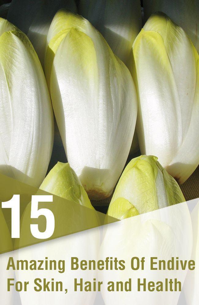 15 Avantages étonnants de l`endive (Kasni) pour la peau, les cheveux et la santé