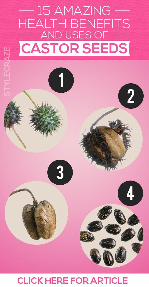 15 Avantages pour la santé incroyable et l`utilisation des graines de ricin (Arand ke Beej)