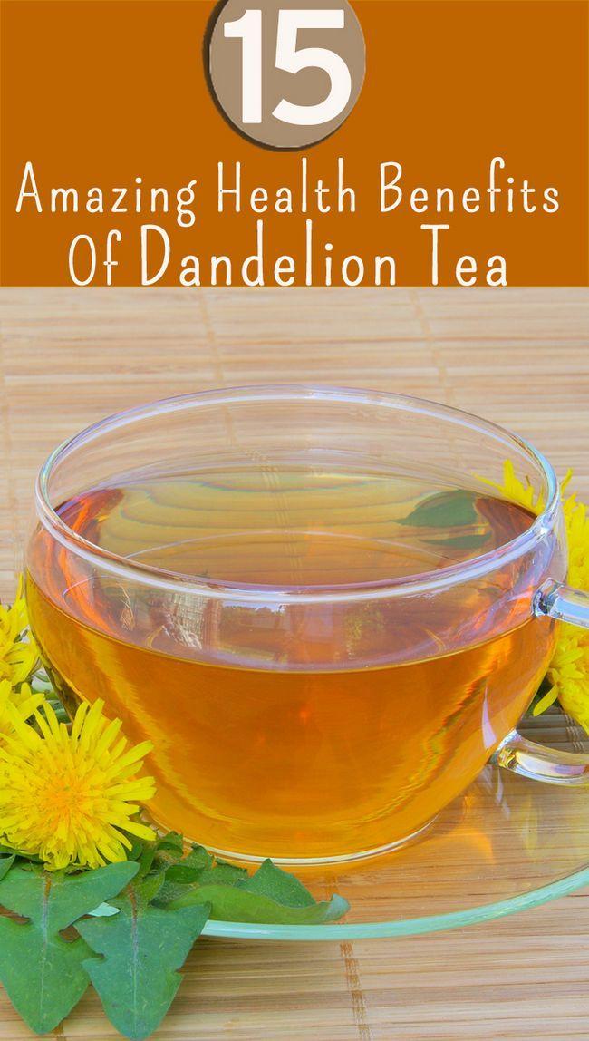 15 Avantages pour la santé incroyable de thé de pissenlit