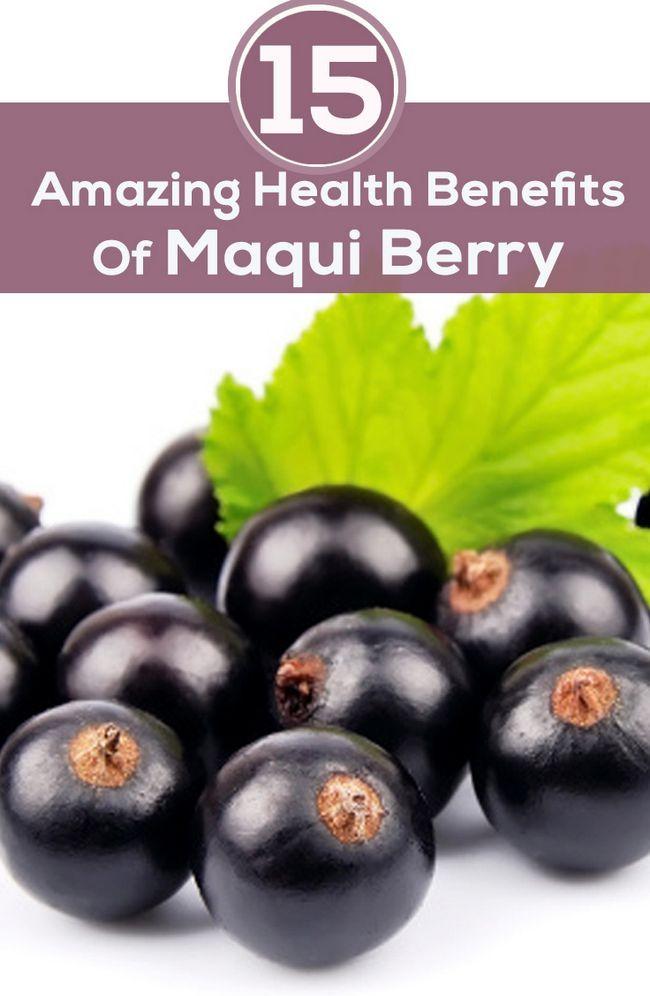 15 Avantages pour la santé incroyable de Maqui Berry