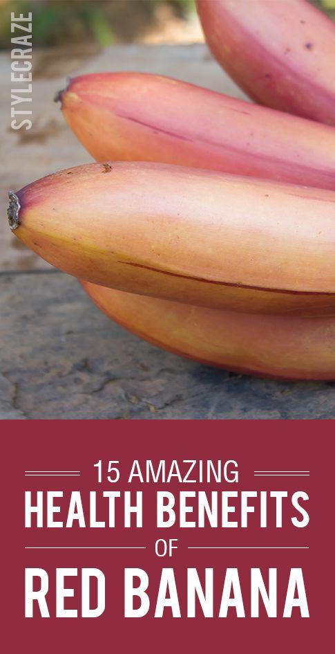 15 Avantages pour la santé incroyable de banane rouge