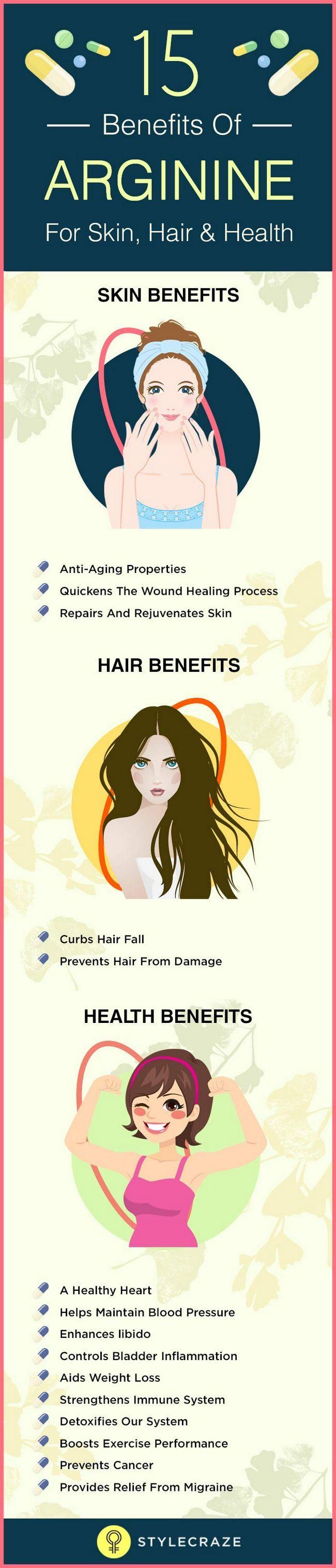 15 Les meilleurs avantages de l`arginine pour la peau, les cheveux et la santé
