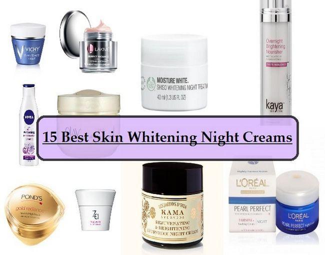 15 Les meilleures crèmes de nuit de blanchiment de la peau disponibles en Inde