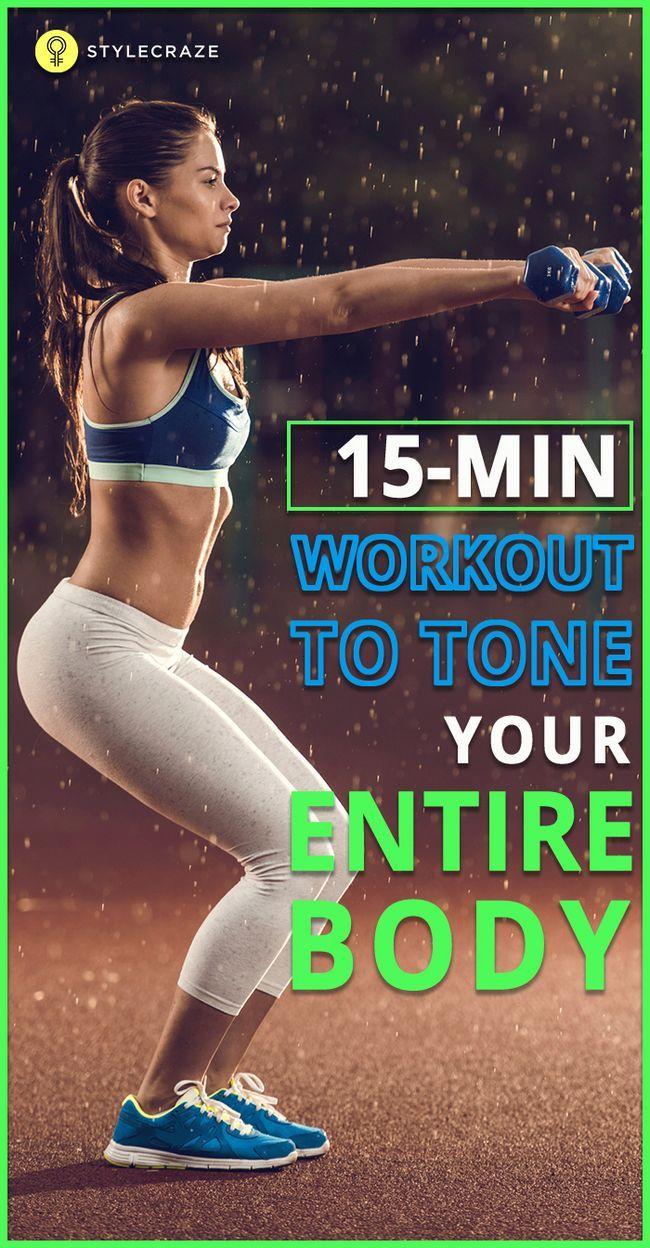 15 Minutes d`entraînement complet du corps pour tonifier votre corps
