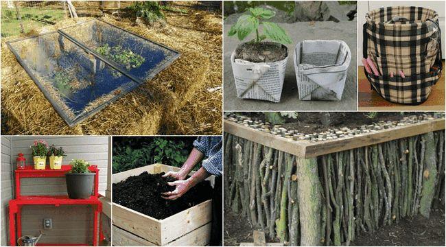 15 A voir DIYs obtenir votre jardin prêt pour le printemps