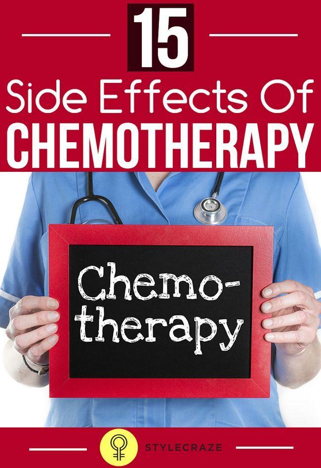 15 Effets secondaires graves de la chimiothérapie