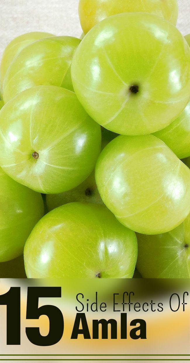 15 Les effets secondaires de amla vous devriez être au courant