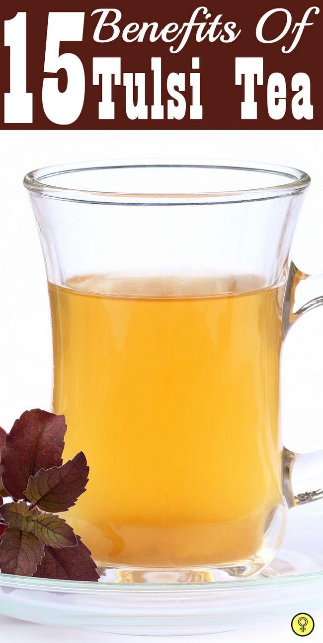 15 Merveilleux avantages de thé Tulsi