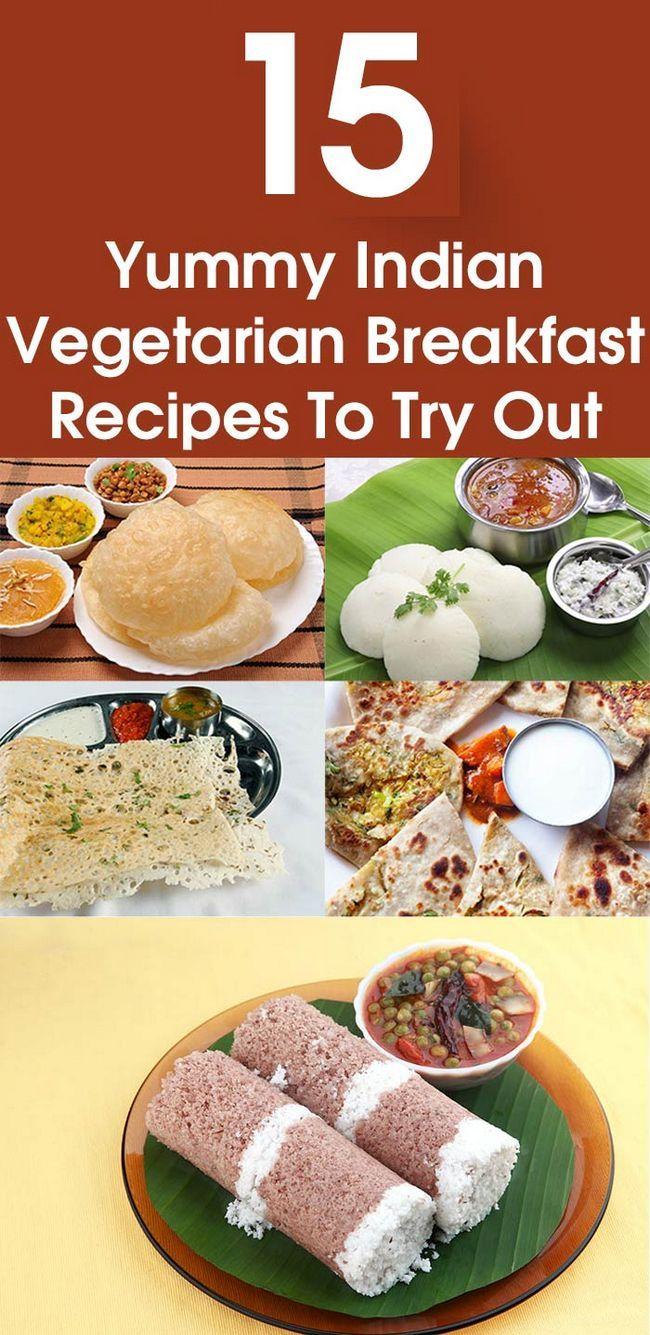 15 Recettes de petit-déjeuner végétarien indien délicieux pour vous d`essayer