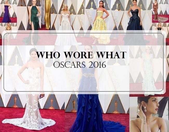 18 Célébrités meilleur et le pire habillés: tapis rouge 2016 oscars