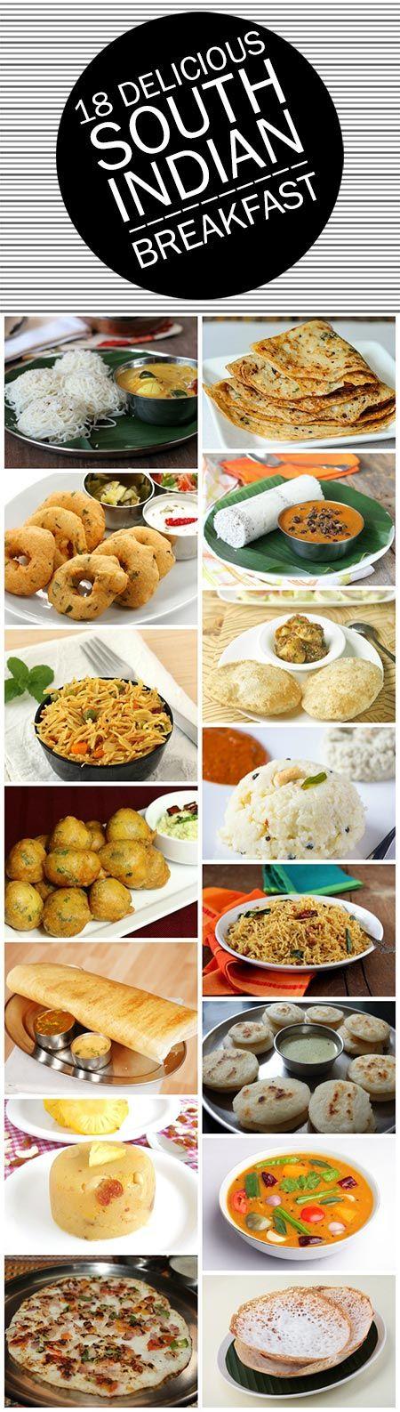 18 Délicieux sud recettes petit déjeuner indien que vous devez essayer
