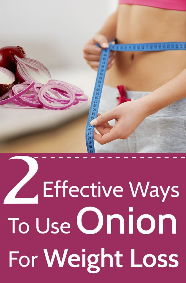 2 Façons efficaces d`utiliser l`oignon pour la perte de poids