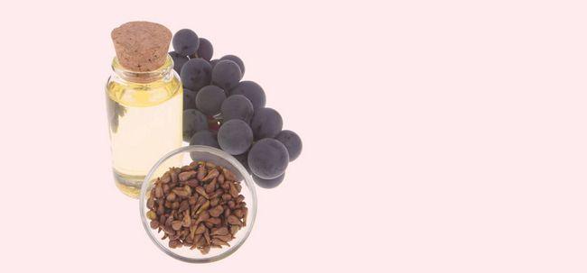 20 Avantages étonnants de l`huile de pépins de raisin pour la peau, les cheveux et la santé