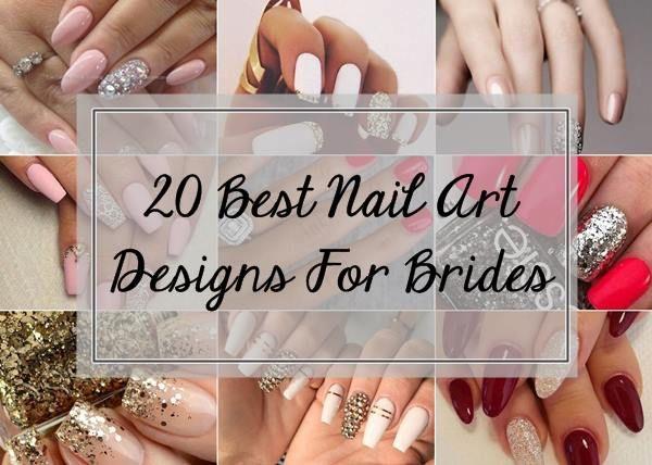 20 Meilleurs designs nail art mariée