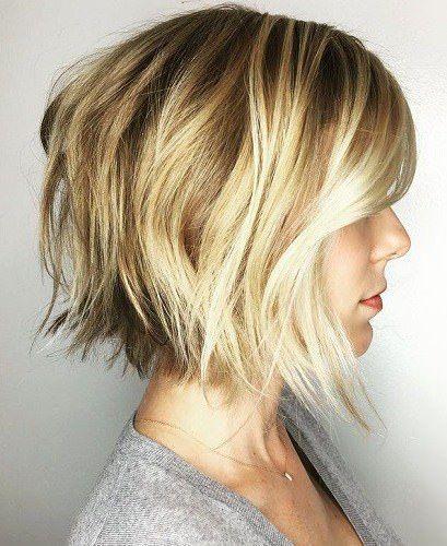 20 Idées pour les coupes de cheveux courtes clapot