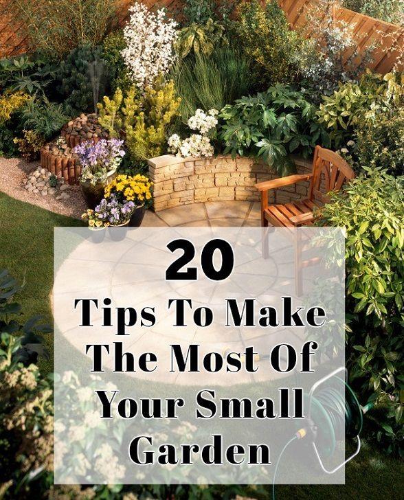 20 Conseils pour tirer le meilleur parti de votre petit jardin