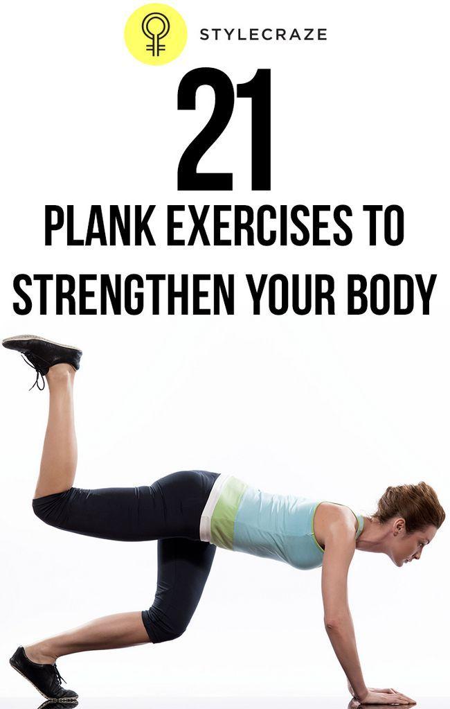 21 Exercices de planches efficaces pour renforcer votre corps