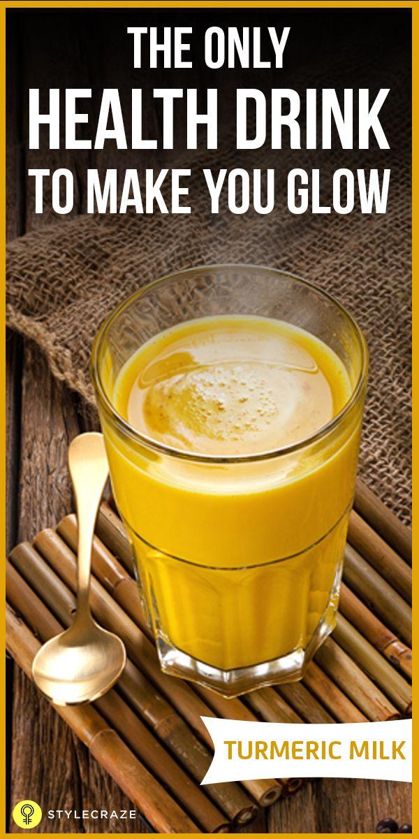 22 Avantages étonnants du lait curcuma (Haldi Doodh) pour la beauté et la santé
