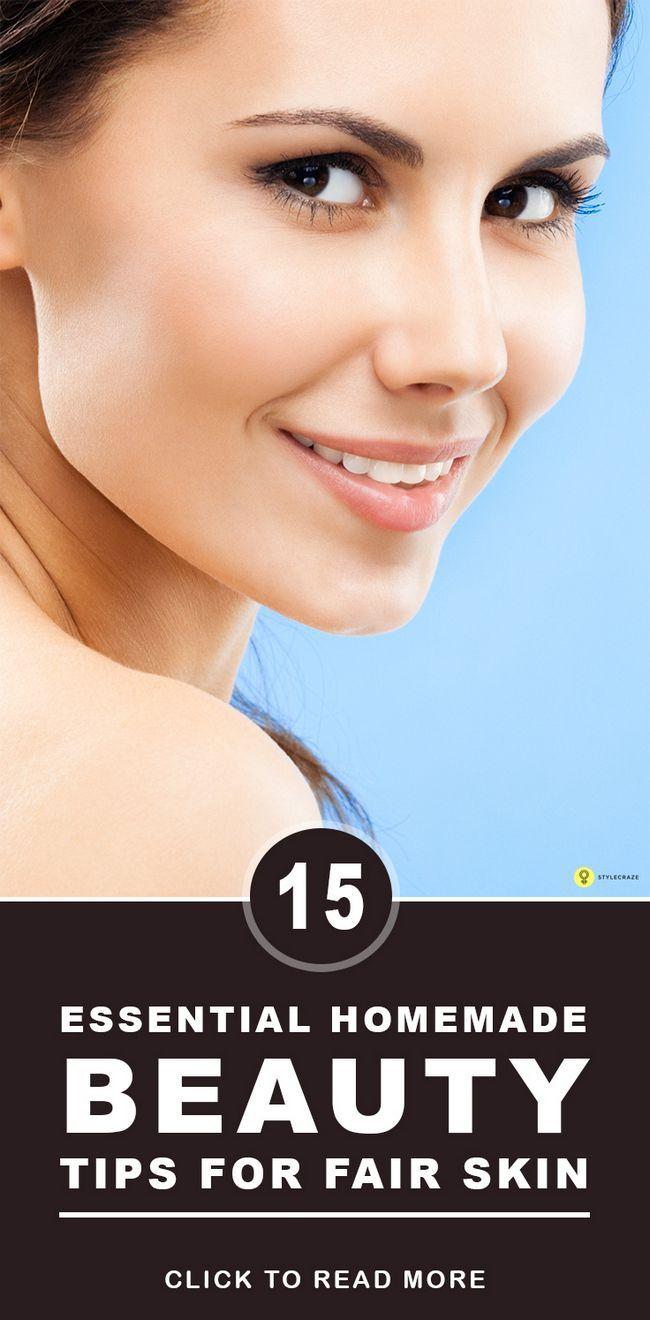 22 Conseils essentiels de beauté maison pour la peau claire