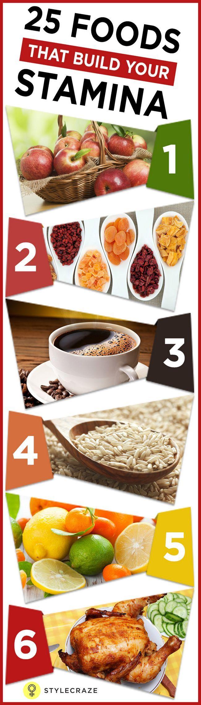 25 Les meilleurs aliments pour augmenter votre endurance