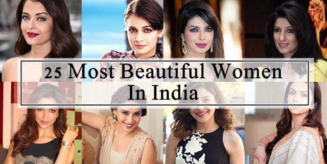 25 Les plus belles femmes en Inde