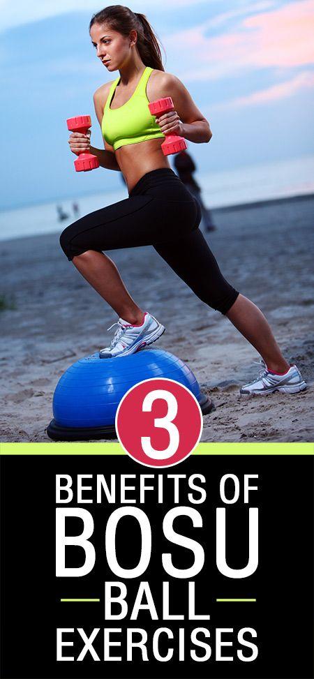 3 Avantages étonnants d`exercices balle bosu