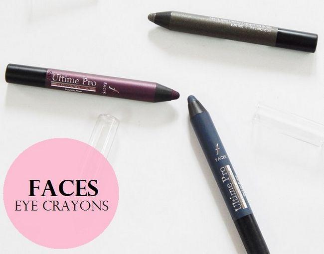 3 Visages ULTIME crayons d`ombre pro oeil: commentaires, nuances, nuanciers