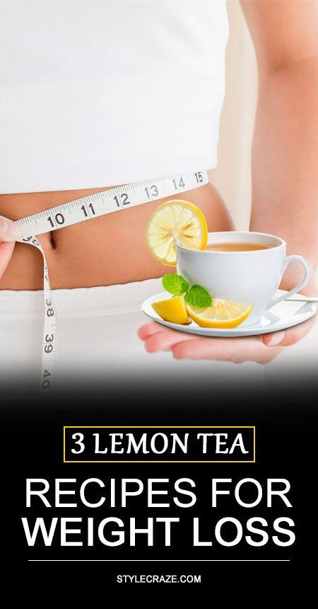3 Recettes de thé de citron simples pour la perte de poids