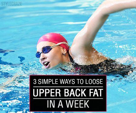 3 Façons simples pour perdre la graisse du haut du dos en une semaine