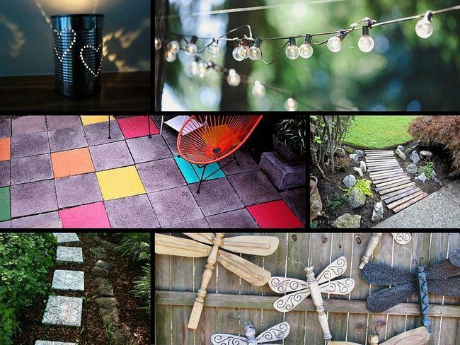 32 Idées Genius pour embellir votre jardin sur un budget