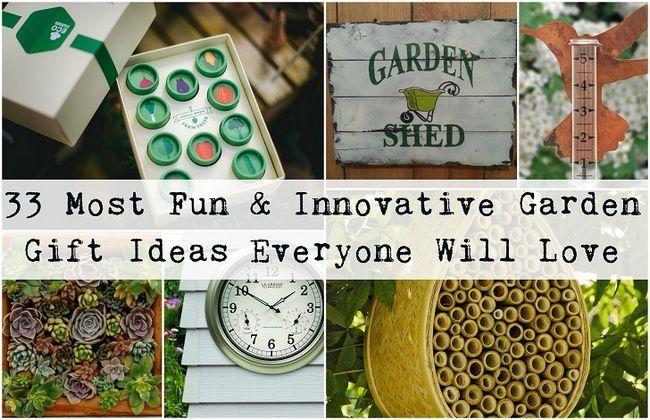 33 La plupart des idées novatrices et amusantes cadeaux de jardin chaque jardinier aimera