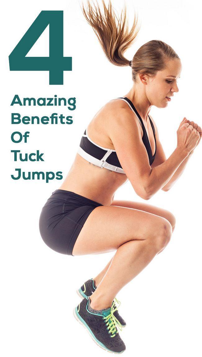 4 Avantages étonnants de tuck sauts d`entraînement sur votre corps