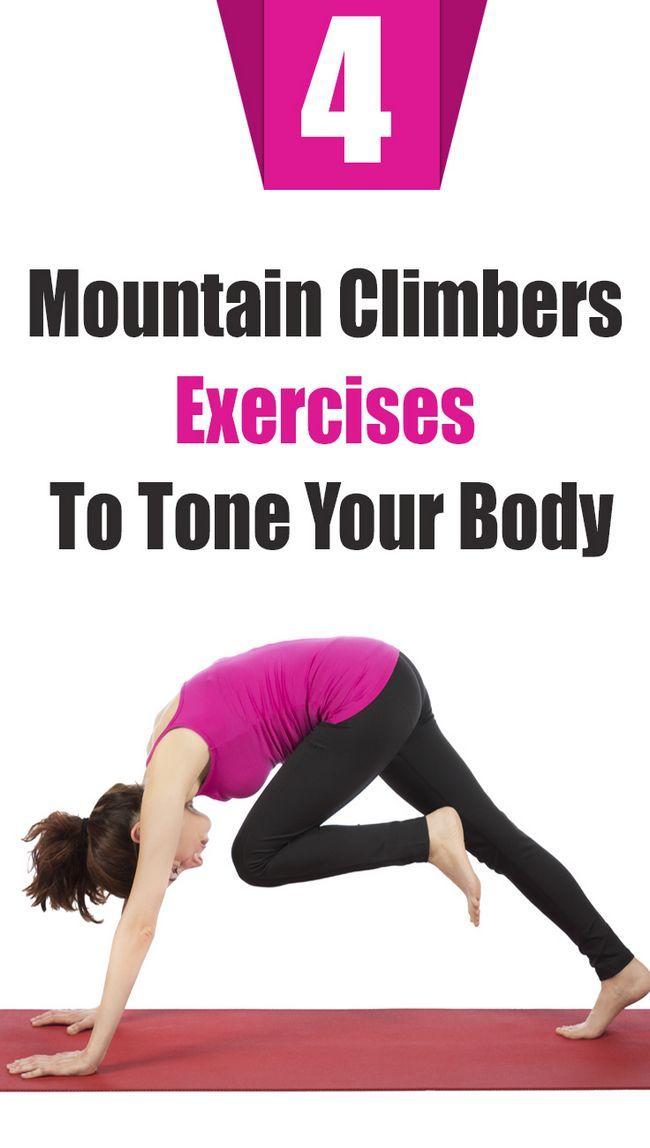4 Alpinistes étonnants exercices pour tonifier votre corps