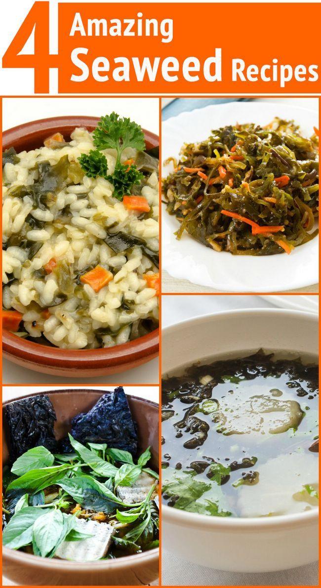 4 Recettes d`algues surprenantes pour la perte de poids