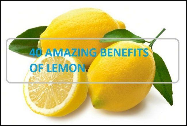 40 Avantages étonnants et utilisations du jus de citron et l`eau de citron