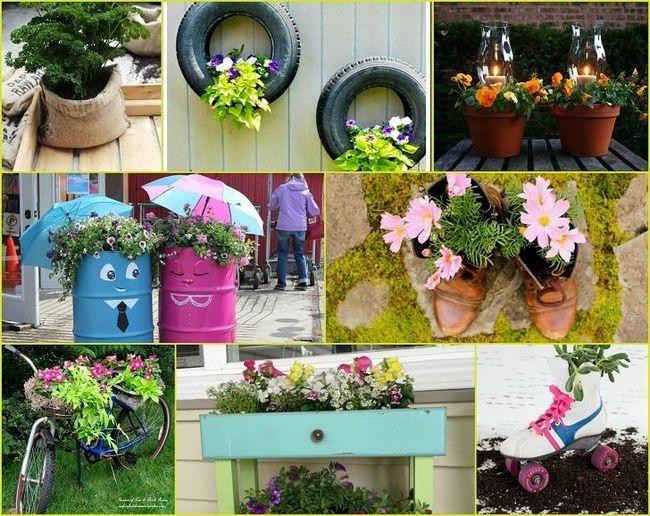 40 Jardinières Inventive diy qui transformeront votre jardin