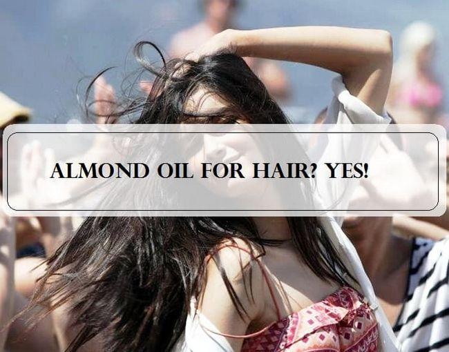5 Avantages incroyables de l`utilisation de l`huile d`amande pour les cheveux