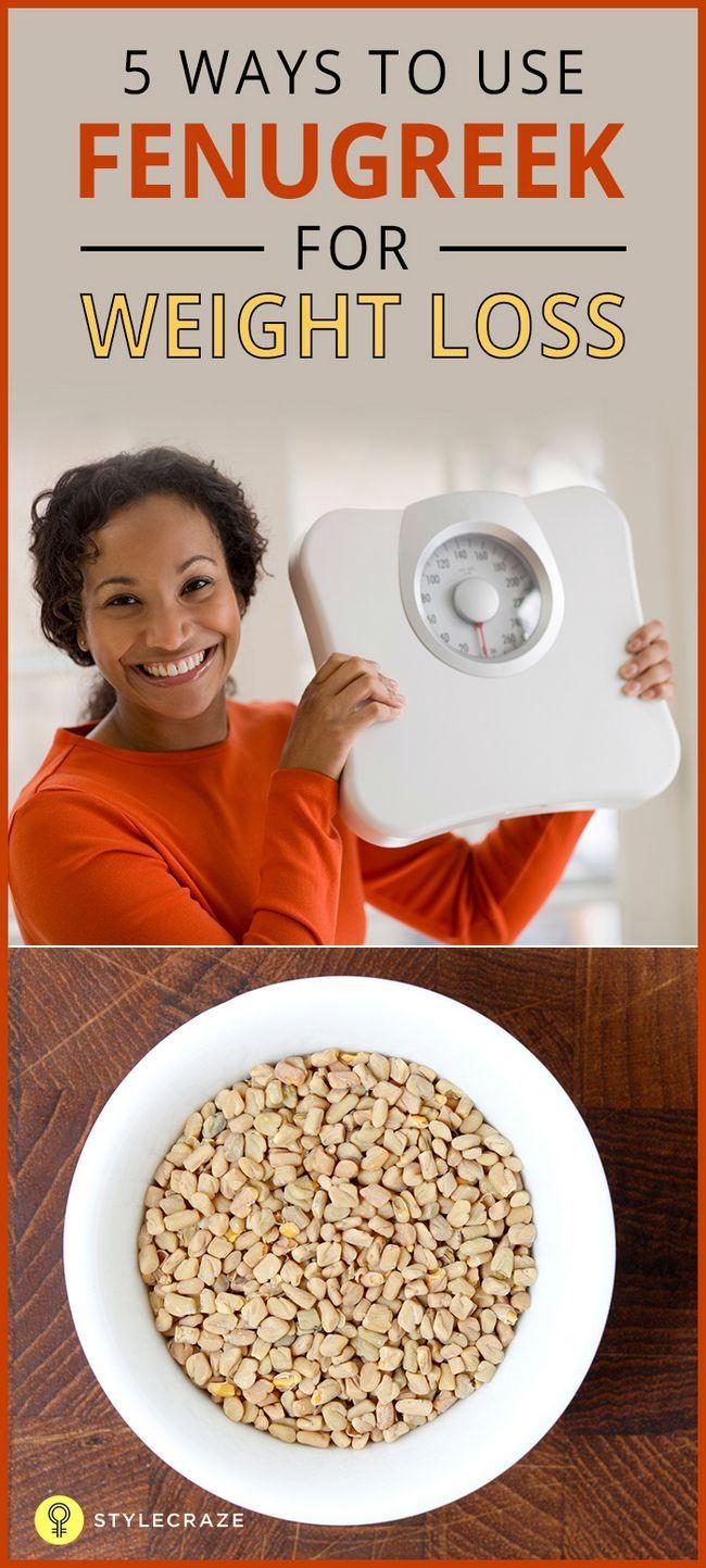 5 Façons incroyable d`utiliser fenugrec pour la perte de poids