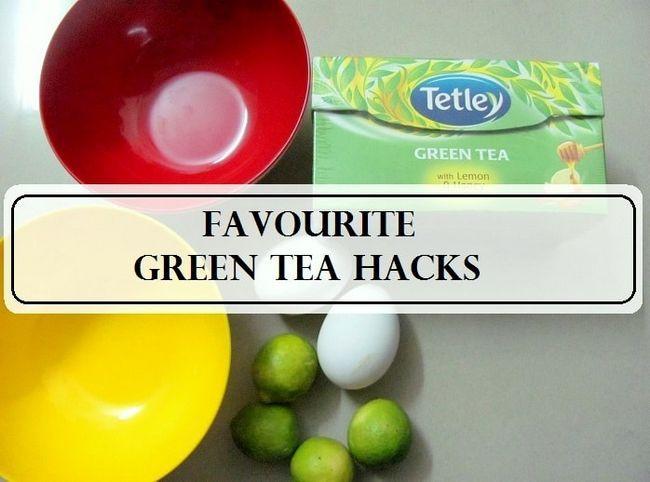 5 Meilleur beauté thé vert DIYs chaque fille devrait savoir