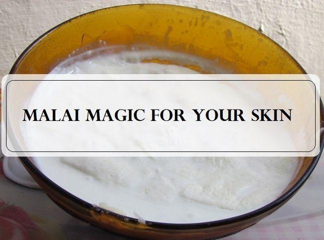 5 Meilleure crème de lait (Malai) packs visage: pour les peaux grasses, sèches