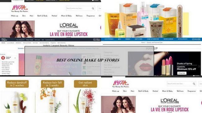 5 Les meilleurs magasins de maquillage en ligne en Inde