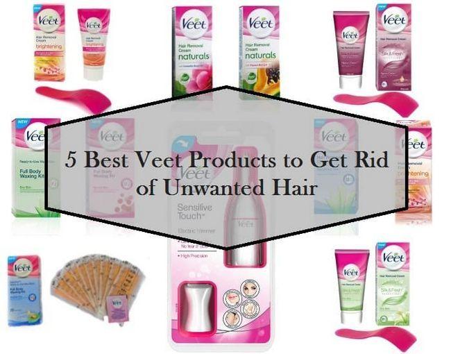 5 Les meilleurs produits Veet disponibles en Inde